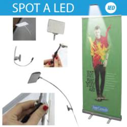 Spot lumineux a led pour Roll-Up